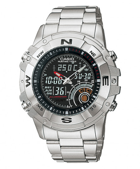 Casio Silver Stylish Watch AMW-705D-1AV
