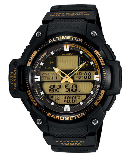 Casio Black Stylish Watch SGW-400H-1B2VDR