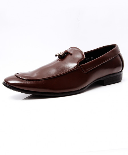 Choco Brown Tassels Stylish Formal Shoes LW-7051
