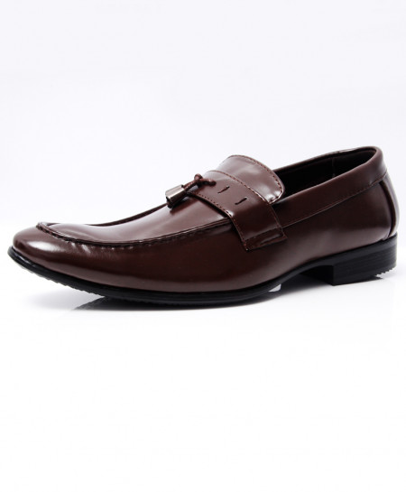 Choco Brown Tassels Stylish Formal Shoes LW-7055