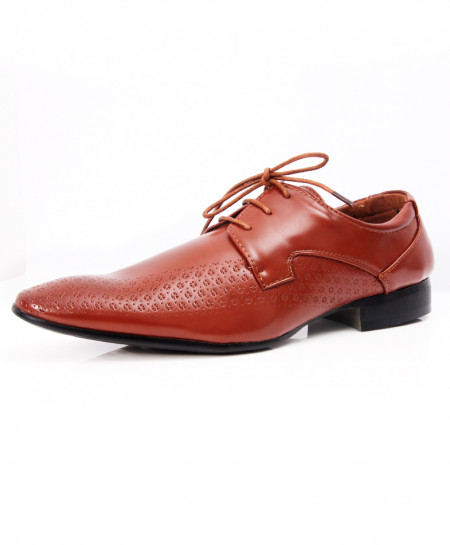 Light Brown Stylish Design Formal Shoes LW-7067