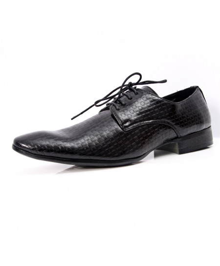 Black Stylish Design Formal Shoes LW-7069