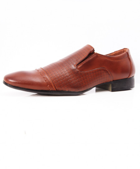 Brown Stylish Design Formal Shoes LW-7077