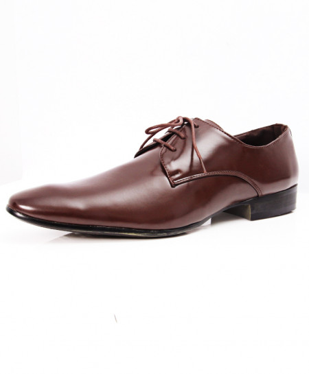 Choco Brown Stylish Design Formal Shoes LW-7080