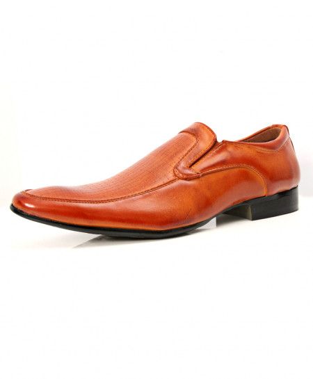Camel Brown Shaded Stylish Design Formal Shoes LW-7081