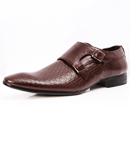 Choco Brown Stylish Design Formal Shoes LW-7093