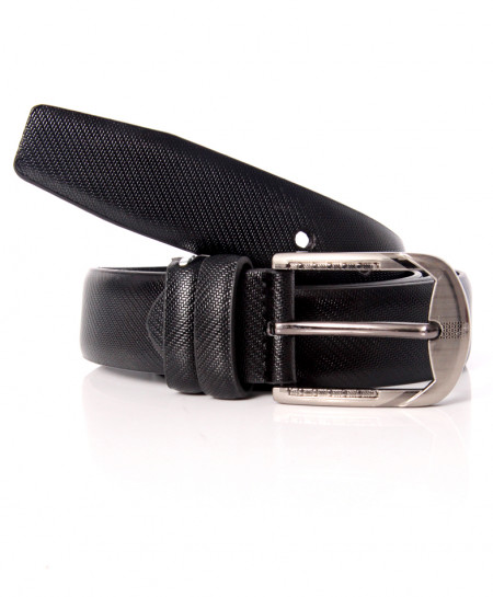Black Buckle Design Stylish Belt NR-011