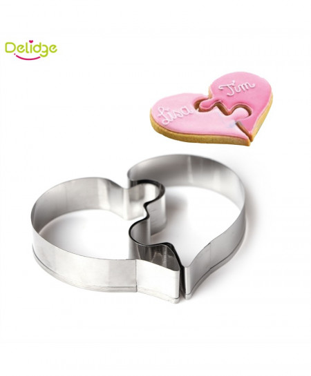 Delidge Heart Cookie Molds AR-7543
