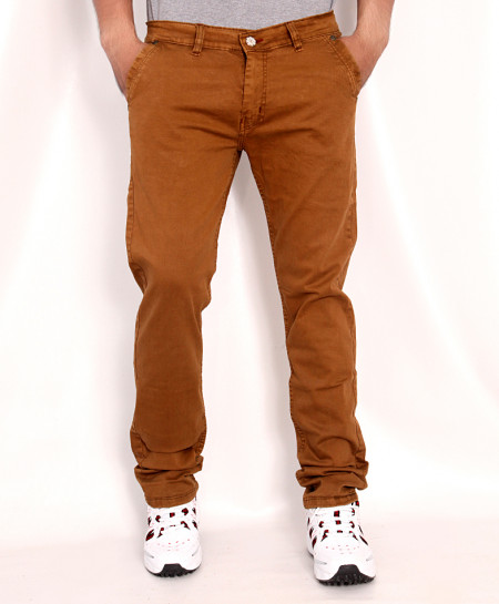 Rust Brown Stylish Cotton Jeans RDI-2812