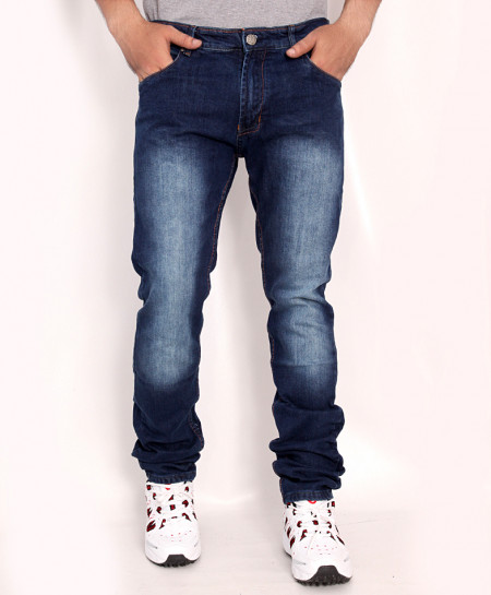 Denim Blue Faded Stylish Denim Jeans RDI-2818