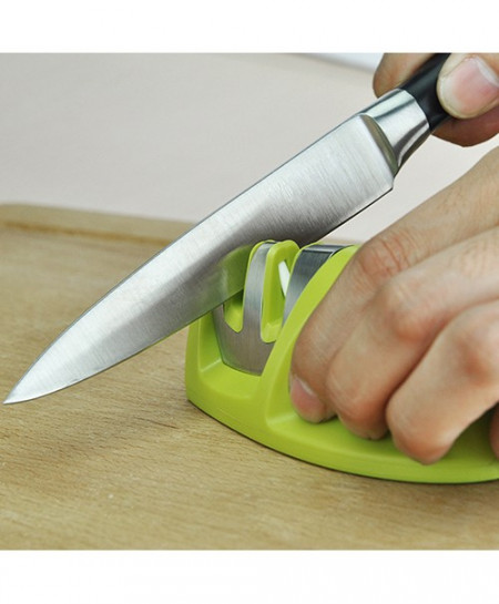 New Arrival Kitchen Knife Two Stages Fine Coarse Sharpener Sharpening Stone Knife Tool BHZT