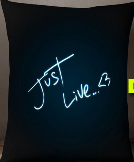 Just Live Digital Printed Cushion BNS-61