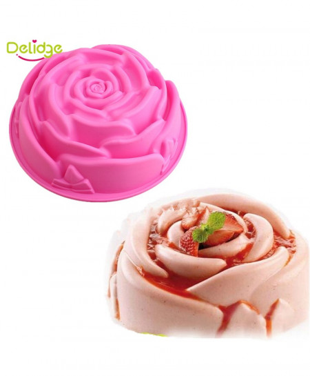 Delidge Rose Flower Cake Mold AR-6921