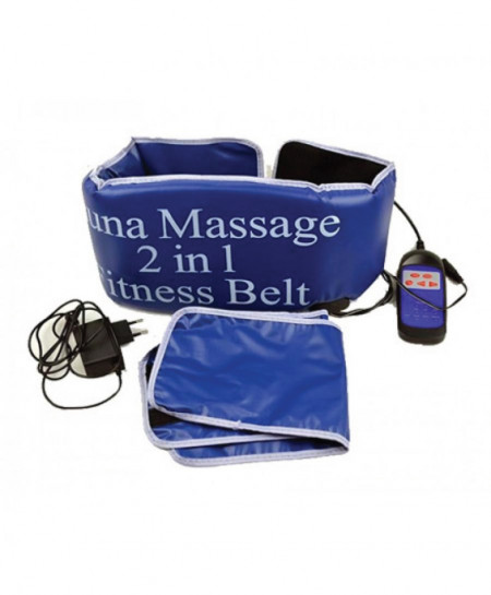 2 in 1 Sauna Massage Slimming Belt FF-153
