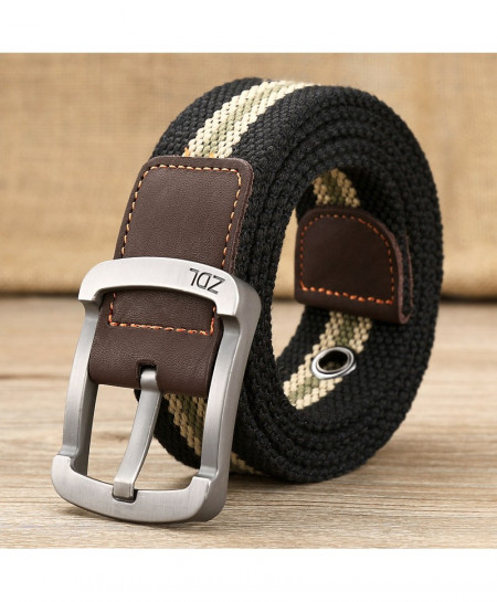 Medyla Black Nylon Tactical Belt ARBR-21