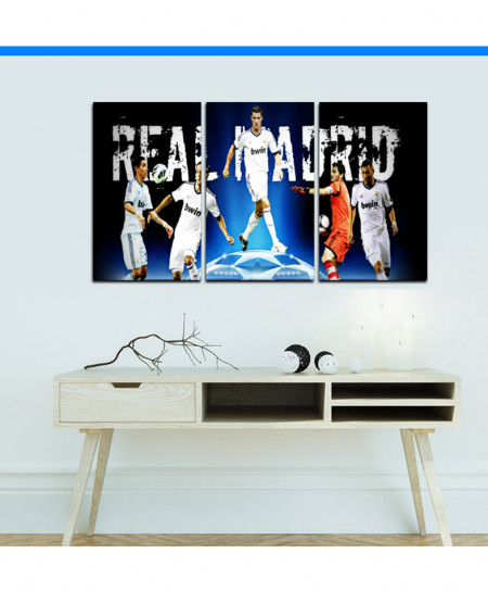 Real Madrid Design Wall Frame BNS-124