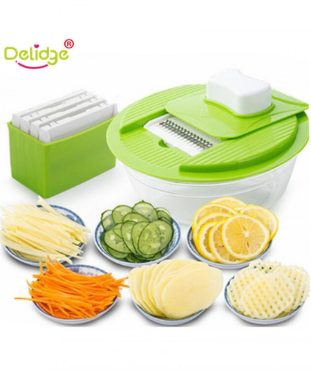 Delidge 5 in 1 Mulifunction Vegetable Grater AR-413