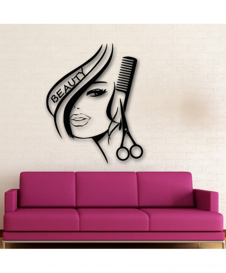 40x51 Hair Beauty Salon Wall Stickers