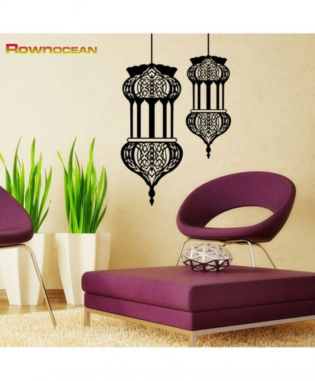 New Islamic Lantern Wall Stickers