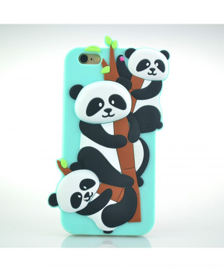 iPhone 7 Panda Silicone Case Cover