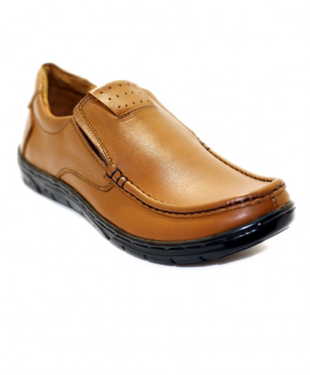 Mustard Stylish Design Formal Shoes SCE-3