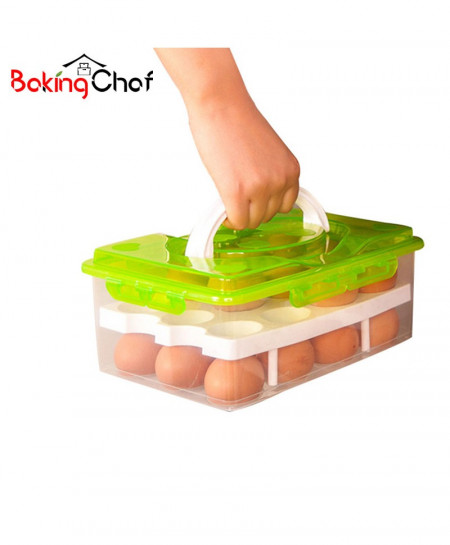 24 Grid Egg Container Storage Box AT-38921