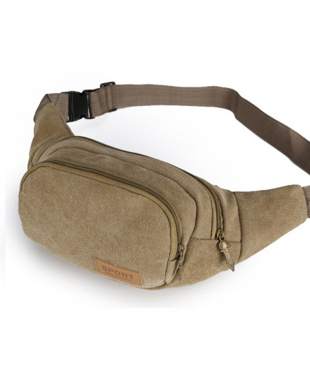 Casual Canvas Waist Bags AT-791