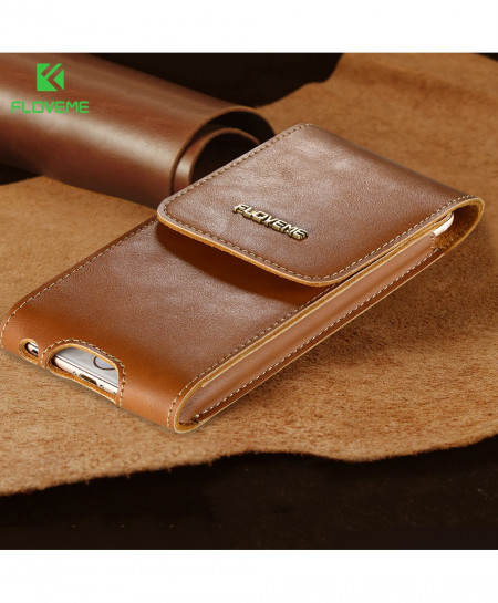 FLOVEME Leather Phone Waist Bags AT-4891