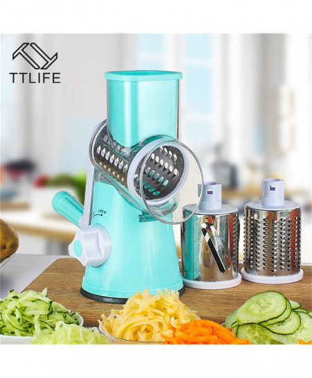 TTLIFE Slicer with 3 Stainless Steel Blades AT-893