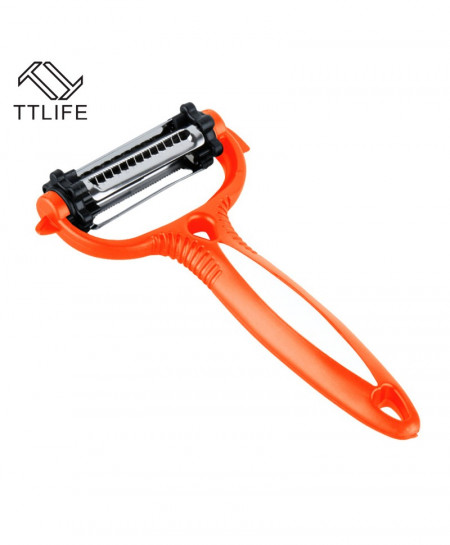 TTLIFE Stainless Steel 3 in1 360 Degree 3 Blades Peeler AT-020