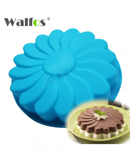 WALFOS Flower Silicone Cake Mold AT-438
