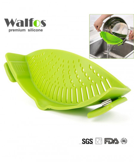 WALFOS Silicone Funnel Strainer Colander AT-482