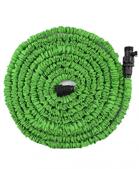 100 Feet Magic Flexible Water Hose With Valves AT-381
