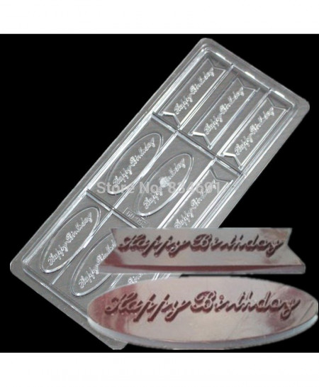 Happy Birthday Chocolate Mold AT-482