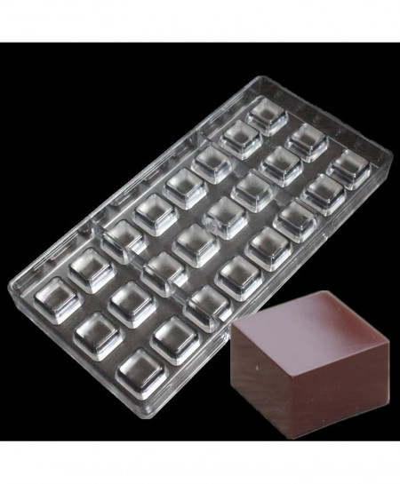 24 Cavities Square Chocolate Mold AT-481