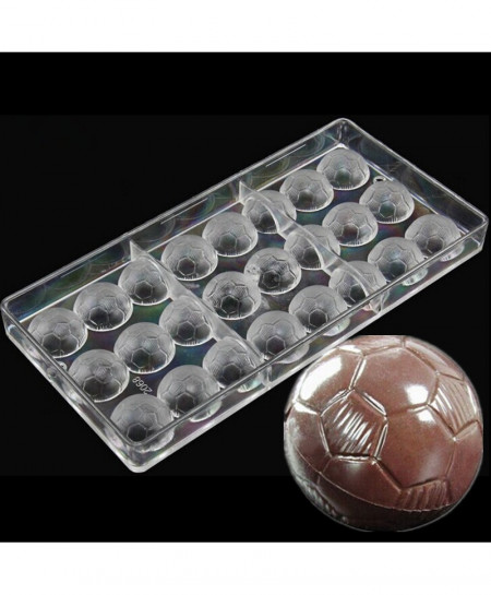 Football Shaped Candy Chocolate Mold AT-5982