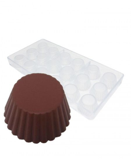 Cups Cake Chocolate Mold AT-821