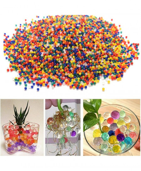 10000pcs Crystal Soil Polymer Hydrogel Water Beads