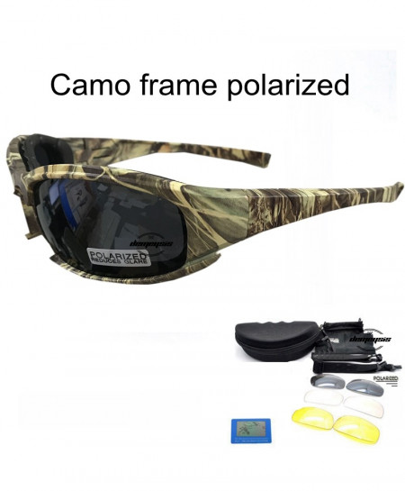 Tactical X7 Glasses Camouflage Army With 4 Lens Eyewear Set AT-831