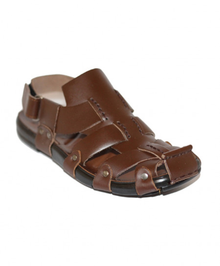 Brown Stylish Design Casual Sandal SCE-11