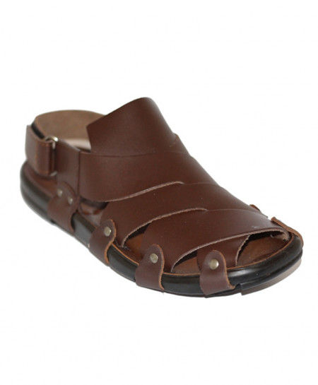 Brown Stylish Design Casual Sandal SCE-7