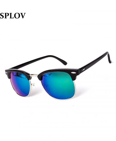 SPLOV Half Frame Designer Sunglasses AT-483