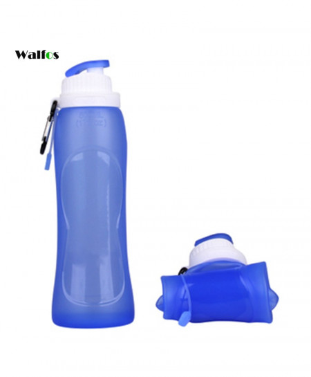 WALFOS 500ml Collapsible Foldable Sport Water Bottle AT-788