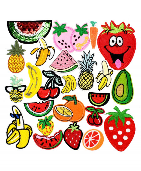 10 PCs Diy Iron On Fruit Patches