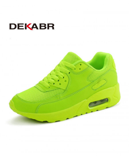DEKABR Green Outdoor Men Breathable Sport Running Shoes