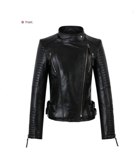 Black Sheep Leather Jacket for Women SLL-01