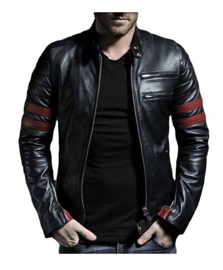 Black Sheep Leather Jacket For Men Mod RS1 SLL-03
