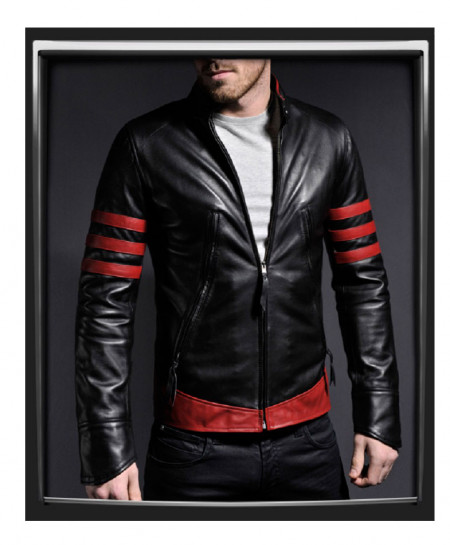 Black Sheep Leather Jacket For Men Mod RS2-SLL-04