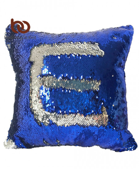 Mermaid Sequin Cushion Cover 40cmX40cm