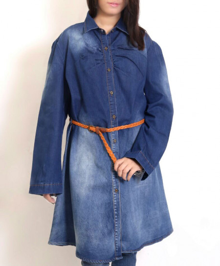 Blue Denim Stylis Women Tops PSW-66